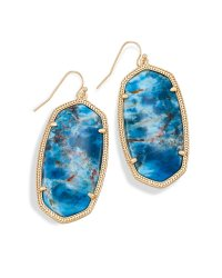 KENDRA SCOTT DANIELLE EARRING IN BRASS | Magpies Gifts