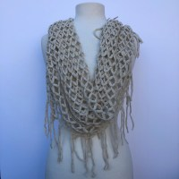 INFINITY KNITTED DESIGN SCARVES | Magpies Gifts