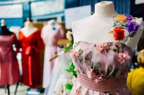 Leamington Spa National Vintage Wedding Fair photo by Amy Rose Deffley