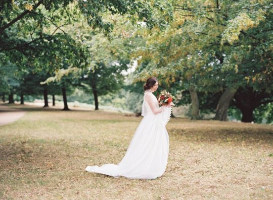 Kate Edmondson 1970s vintage style bridal separates, photo taken by Natasha Hurley