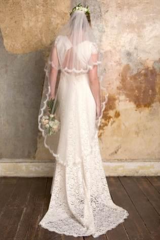 Sally Lacock boho vintage inspired wedding dress