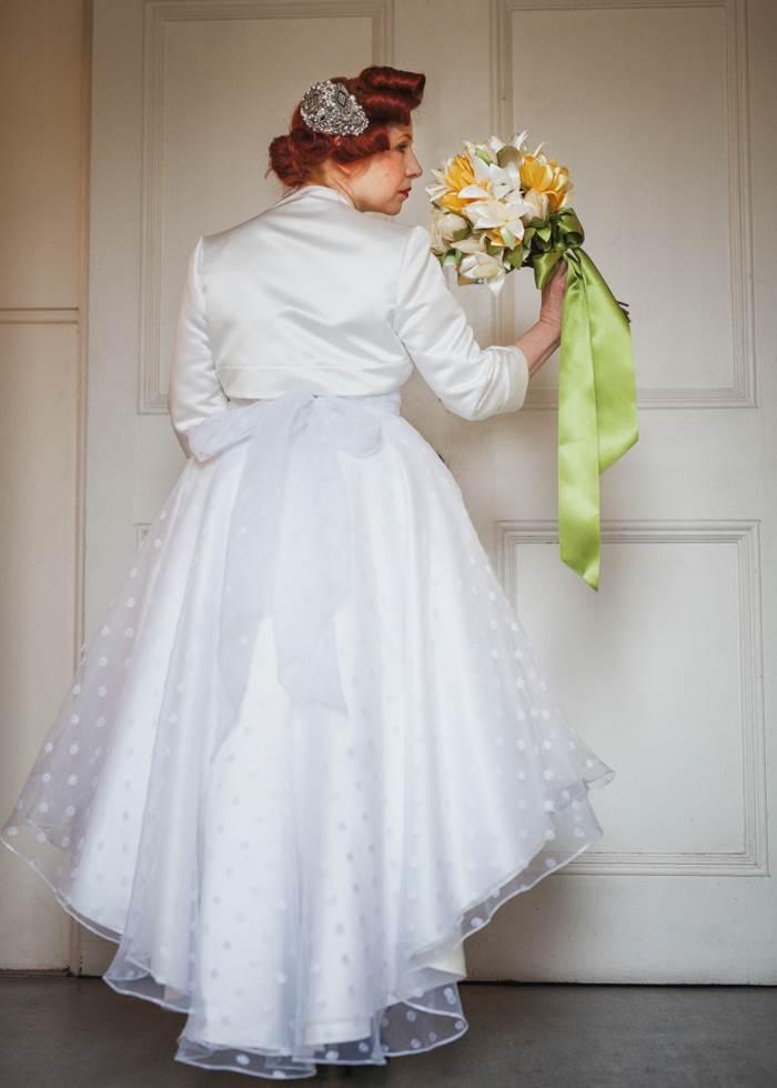 Chiswick London Vintage Wedding Dress fashion Parade by the National Vintage Wedding Fair