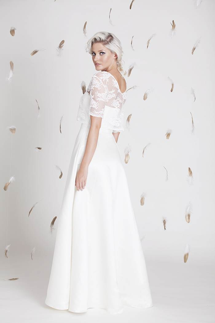 Hazaar of London; wedding dresses with a vintage touch for the modern bride