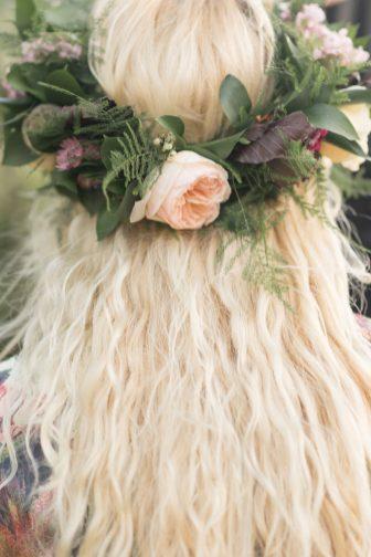 A Pretty Vintage Floral Maximalist Springtime Wedding