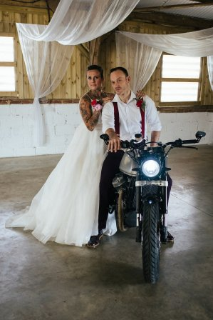 Tattooed Brides - Should You Show Off Your Tattoos On Your Wedding Day?