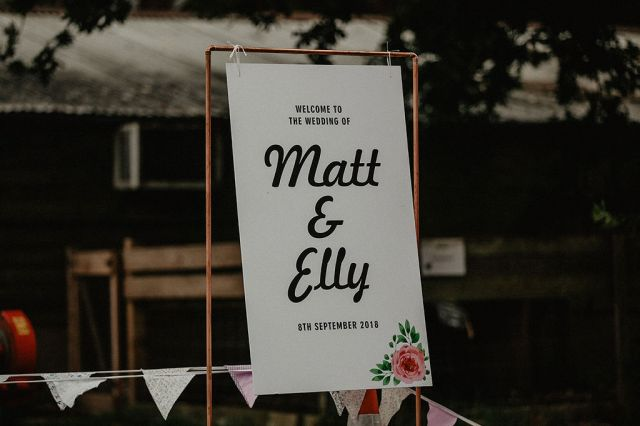 Rustic Barn Wedding with Disco Suits and Cool Urban Vibes