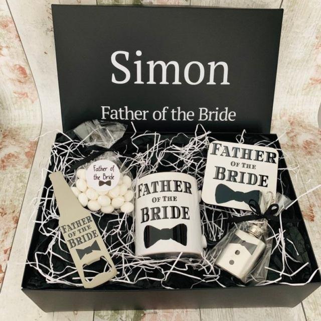 Father of the bride hamper