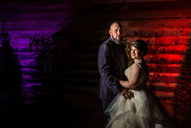 Eclectic Wedding With Gothic Cake And A French Bulldog Bridesmaid