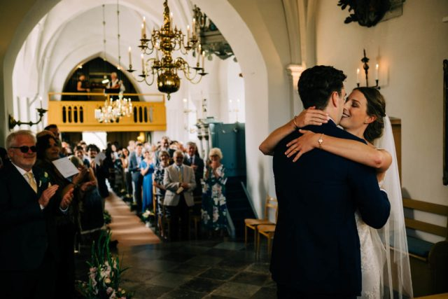 Relaxed Garden Wedding in Sweden With Traditional Vibes