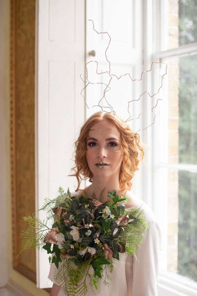 Alternative Wedding Head Piece and Accessory Ideas For The Creative Bride