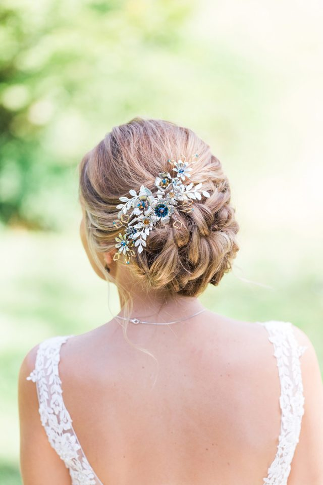 Classic English Country Wedding With Jewel Toned Styling