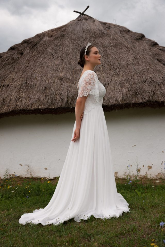 Folk Wedding Dresses- Your Perfect Modern Vintage by Daalarna
