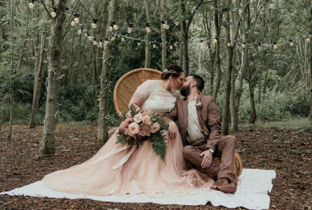 Wild Romantic Wedding Inspiration at The Oaklands, Yorkshire