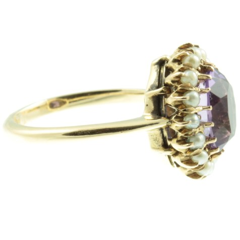 Amethyst-and-seed-pearl-cluster-ring-IMG_4161