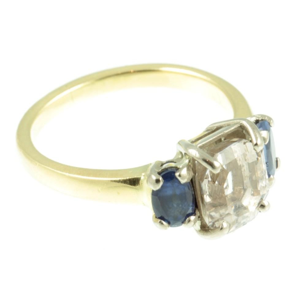 Art-Deco-3-stone-Sapphire-ring-371