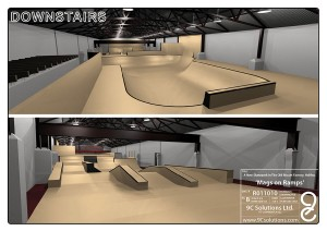 Home Mags On Ramps Skatepark UK Downstairs Ramps design plan