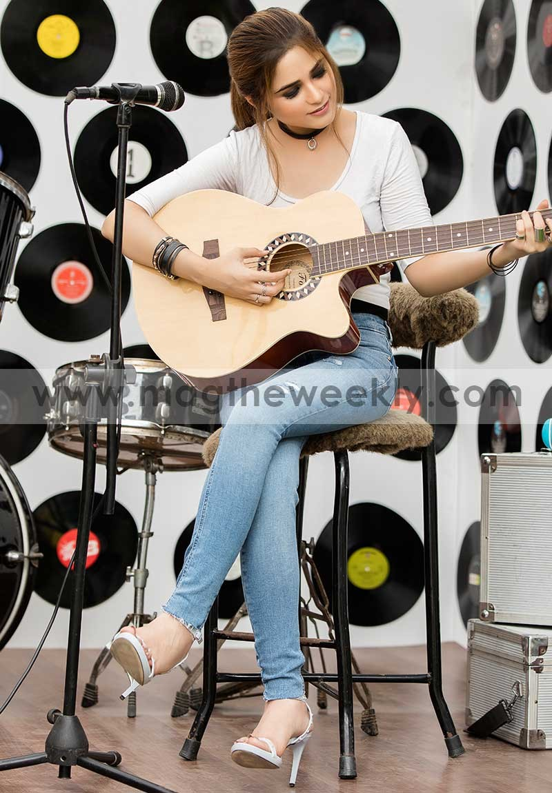 Aima Baig Shoot  Official on MAGs cover story  Videos  MAG THE WEEKLY