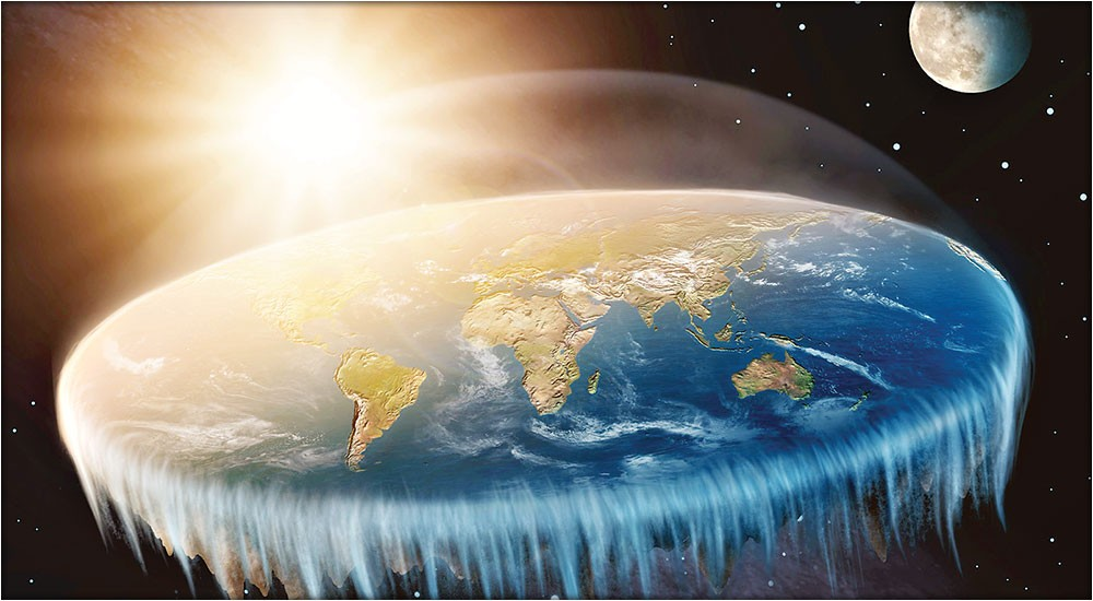 Is NASA lying Flat Earthers reveals why Earth is not actually round  Mag Files  MAG THE WEEKLY