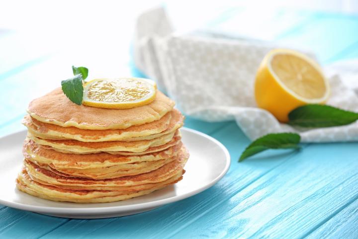 Lemon Pancakes via @theMagunga