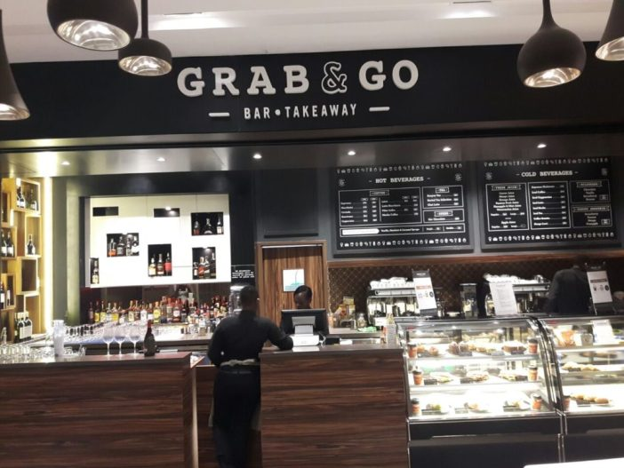 Grab and Go bar, Tune Hotels