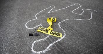 Magunga, Harriet Anena, Dead, Chalk Outline