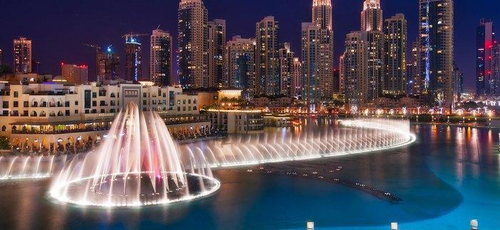 Dubai Fountain, Burj Khalifa Lake, Dancing Fountains, Burj Khalifa, Dubai Mall, Magunga, Travel