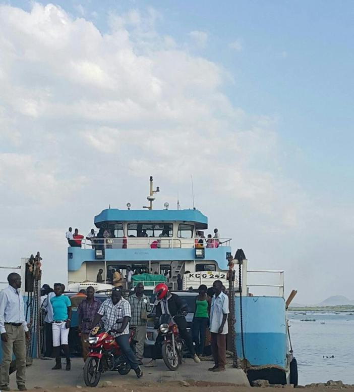 Mbita, Luanda K'otieno, Ferry