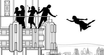 Falling Girl by Scott Sibbe