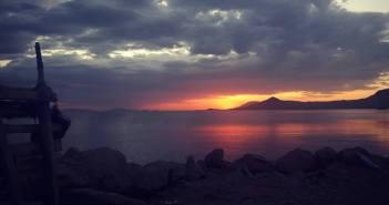 Rusinga Sunset, Mbita, Luanda K'otieno, Ferry