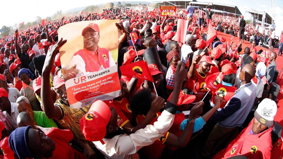 Uhuru Kenyatta 2017 Campaign