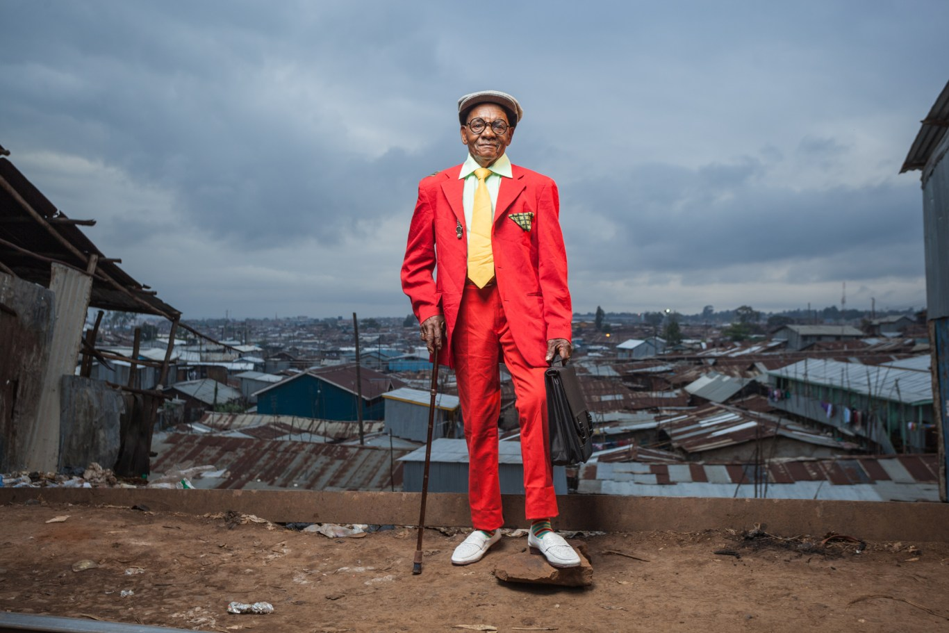 Kenyan Sapeur of Kibera. Shot by Osborne Macharia, Capture Kenya 2014