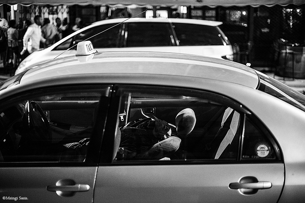 Lillian Taxi Rank Nairobi Noir