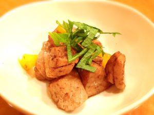 【■鮪百珍■015 鮪のサイコロステーキ】