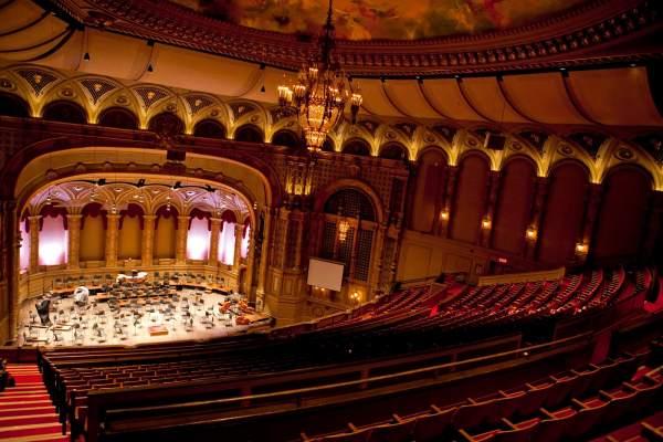 Orpheum Theatre In Vancouver