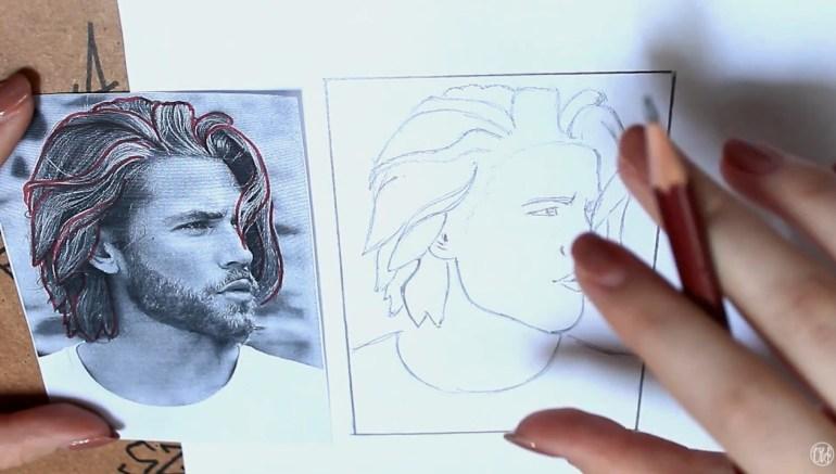 Rajz - Hogyan rajzolj hajat
