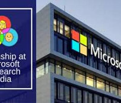 Microsoft Research India is Inviting Applications For Researcher and Post-doctoral Positions.