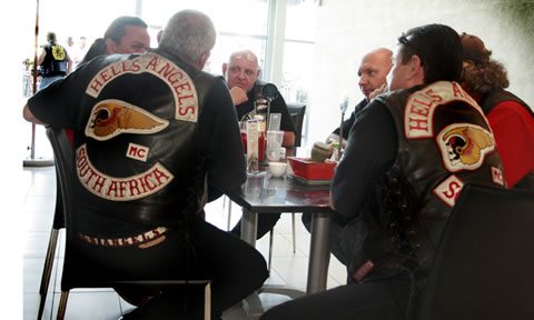 Hell's Angels. In it's second year the Southern Ink Xposure festival hosted