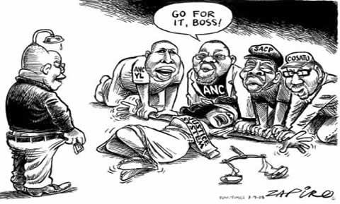 Zapiro - The Rape of Justice