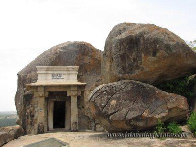 Badhrabahu Cave, Chandragiri hillock, Shravanabelagola.