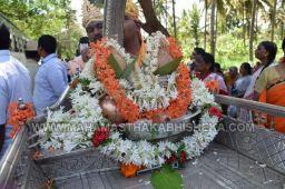 Acharya-Vardhamansagarji-Maharaj-Mangala-Pravesha-Shravanabelagola-Bahubali-Mahamasthakabhisheka-Mahamastakabhisheka-2018-003