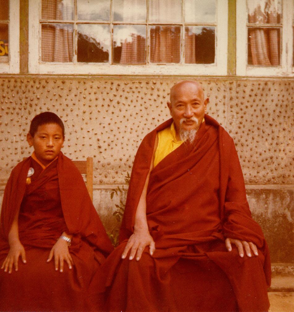 гьялванг друкпа римпоче и его учитель
