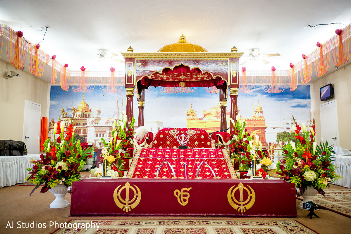 Buena Park CA Sikh Wedding By AJ Studios Photography Maharani