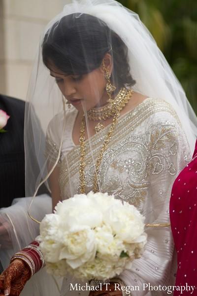 Ceremony in Marina del Rey CA Indian Fusion Wedding by