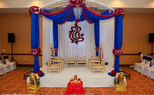 Mandap In St Petersburg Fl Indian Wedding By Sona