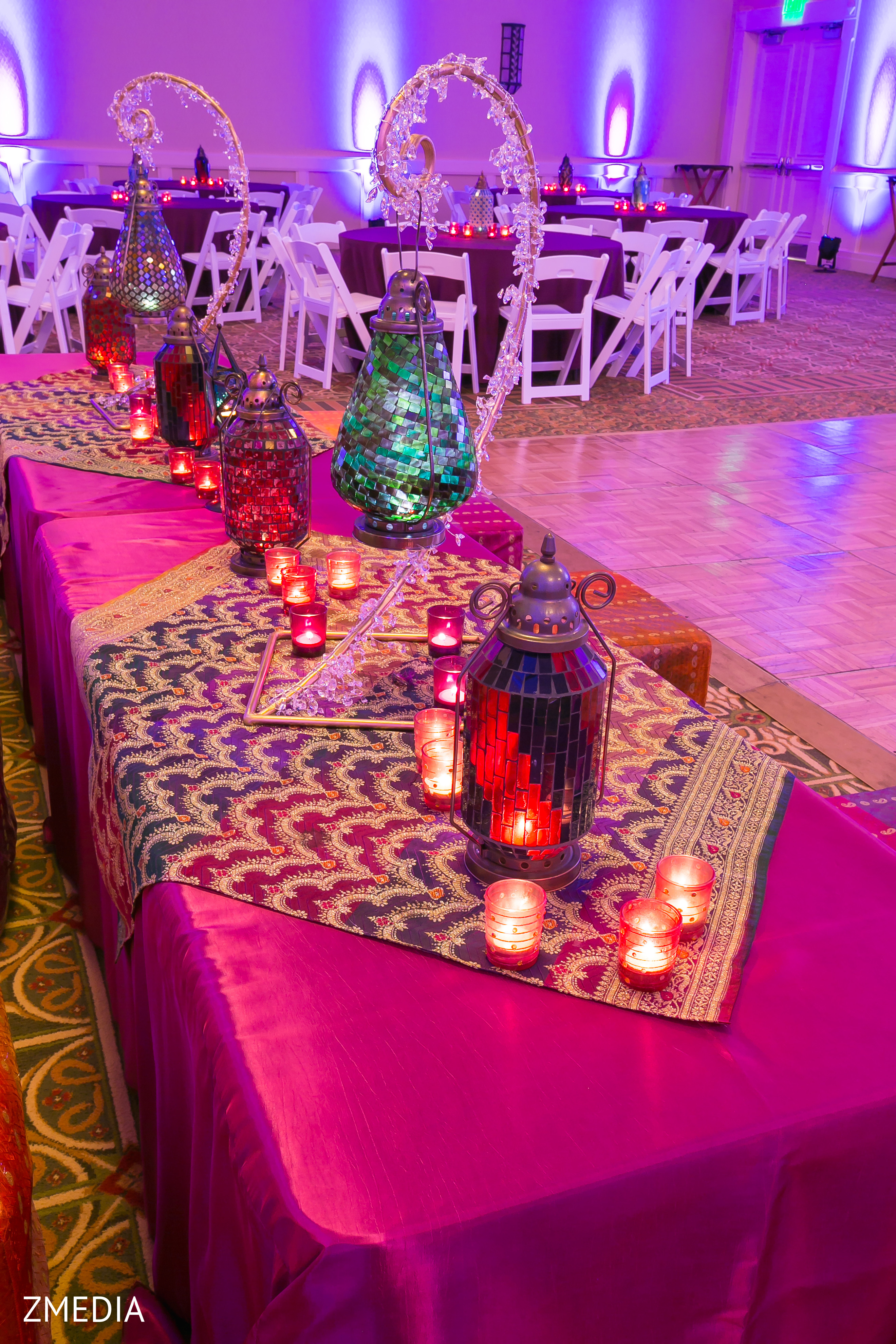 Floral Amp Decor In Charleston SC Sikh Wedding By ZMEDIA