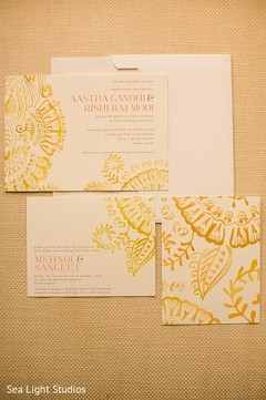Ivory Shimmery Damask Themed Screen Printed Wedding Invitations As 8261f