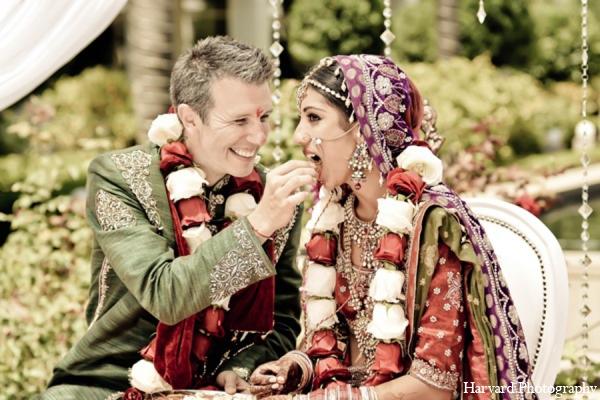 Yorba Linda CA Indian Fusion Wedding by Harvard Photography  Maharani Weddings