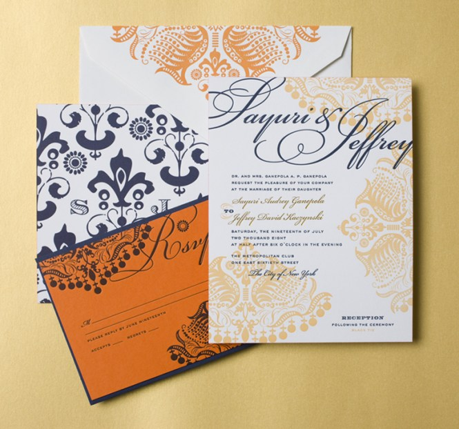 Indian Wedding Invitation Cards Brton Ideas