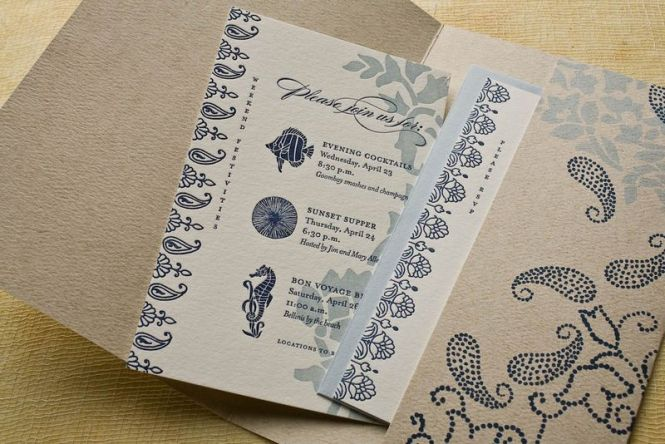 Small And Simple Invitation