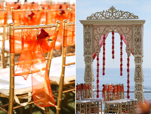 Beach Side Hindu Wedding Ceremony Maharani Weddings